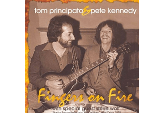 Tom Principato - Fingers On Fire - (CD)