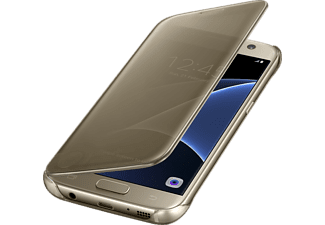 SAMSUNG CLEAR VIEW COVER GALAXY S7 - Gold