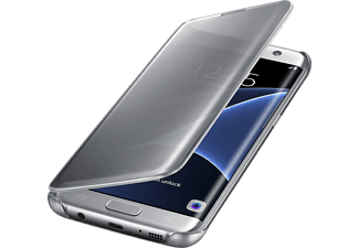 SAMSUNG CLEAR VIEW COVER GALAXY S7 Edge - Silver