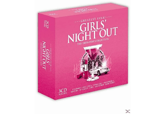 VARIOUS - Greatest Ever Girl's Night - (CD)