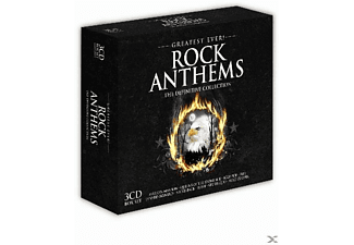 VARIOUS - Greatest Ever Rock Anthems - (CD)