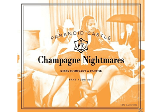 Paranoid Castle - Champagne Nightmares - (CD)