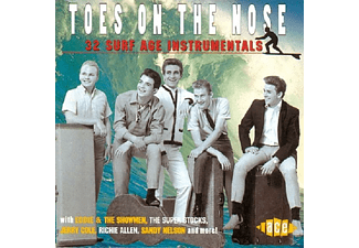 VARIOUS - Toes On The Nose:32 Surf - (CD)