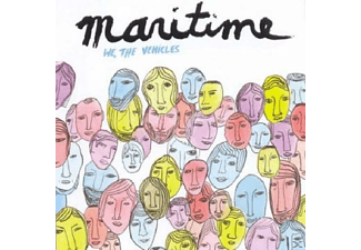 Maritime - We, The Vehicles - (CD)