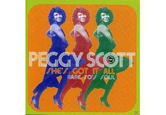 Peggy Scott - She's Got It All - Rare 70s Soul [CD]