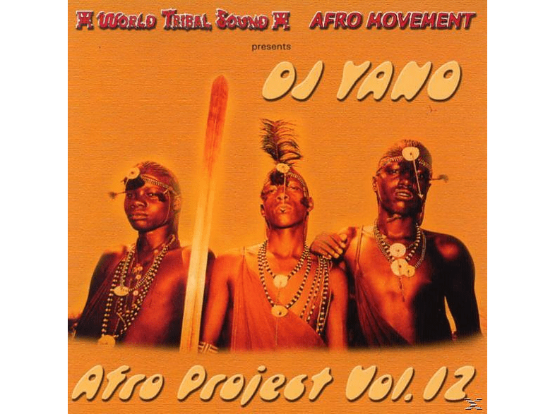Dj Yano - Afro Project Vol.12 [CD]