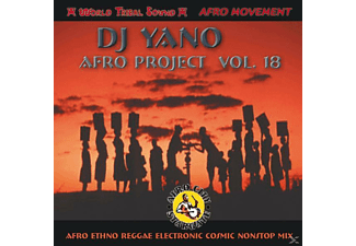 Dj Yano - Afro Project Vol. 18 [CD]