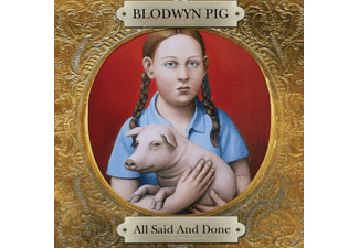 Blodwyn Pig - All Said And Done - (CD)