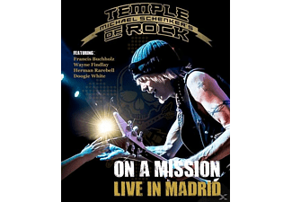Michael Schenker - On A Mission-Live In Madrid [Blu-ray]