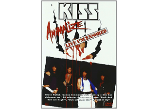 - Kiss - Animalize / Live Uncensored (Import) - (DVD)