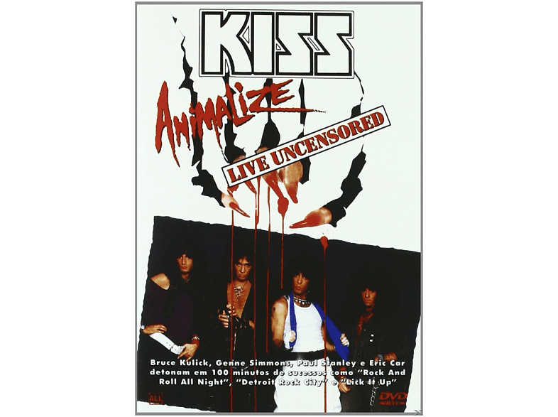 - Kiss - Animalize / Live Uncensored (Import) [DVD]
