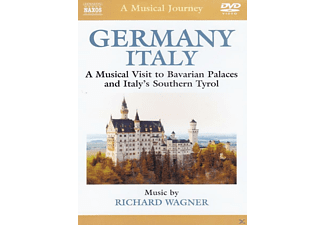 Naxos Scenic Musical Journeys Germany, Italy Bavarian Palaces and Italy's Southern Tyrol - (DVD)