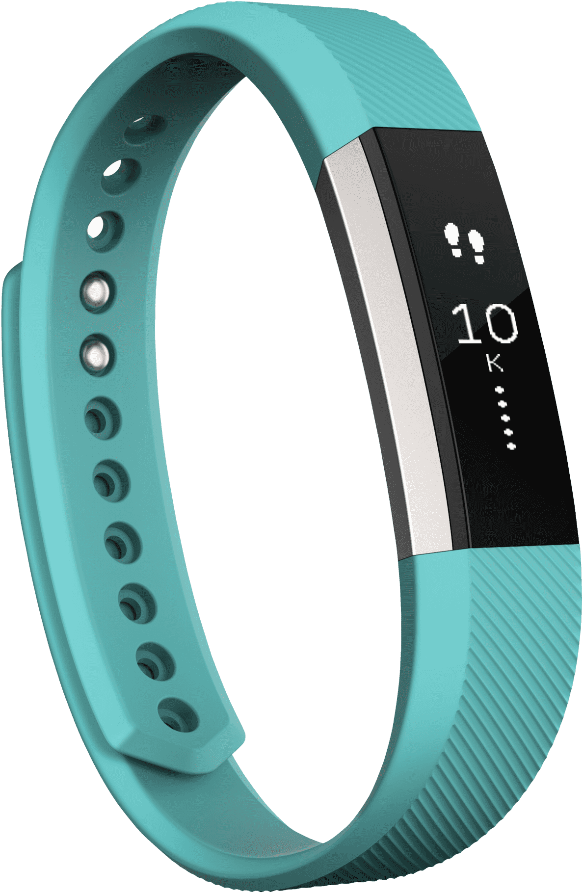 FITBIT ALTA, Fitness Armband, 170-205 mm, Flexibles, beständiges Elastomer, Türkis | 00810351027164