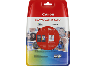 CANON PG-540XL/CL-540XL Tintenpatrone Photo Value Pack mehrfarbig (5222B013AA)