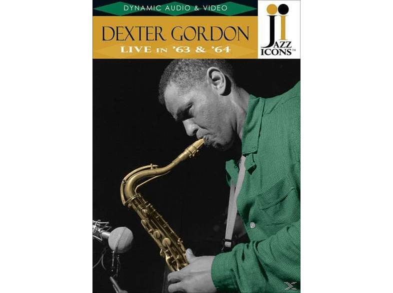 Dexter Gordon - Jazz Icons: Dexter Gordon Live In '63 & '64 [DVD]
