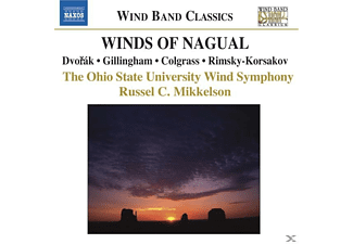 VARIOUS, Mikkelson/Ohio State Wind SO - Winds Of Nagual - (CD)