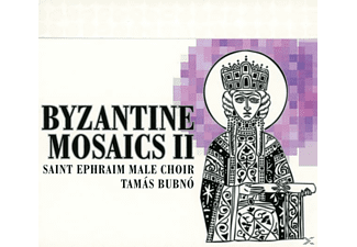 Tamas & Saint Ephraim Male Choir Bubno - Byzantine Mosaics Vol.2 - (CD)