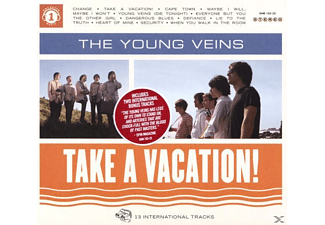 The Young Veins - Take A Vacation! - (CD)