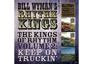 Bill Wyman's Rhythm Kings - The Kings Of Rhythm Vol.2: Keep On Truckin - (CD)