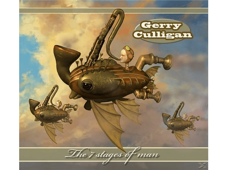 Gerry Culligan - The 7 Stages of Man [CD]