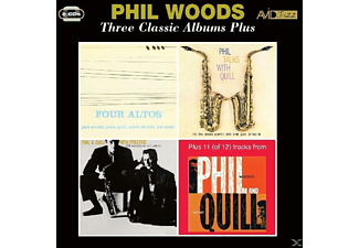 Phil Woods - 3 Classic Albums Plus - (CD)
