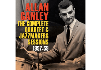 Allan Ganley - The Complete Quartet & Jazzmakers Sessions 1957-59 - (CD)
