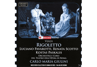 Paskalis, Scotto, Washington, Giulini, Porta, Luciano Pavarotti - Rigoletto - (CD)