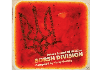 VARIOUS - Borsh Division-Future Sound Of Ukraine [CD]