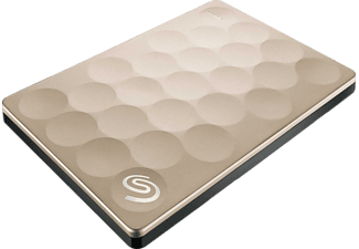 SEAGATE Externe harde schijf 1 TB Backup Plus Ultra Slim Goud (STEH1000201)