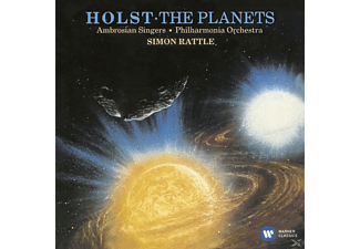 Simon/ambrosian Singers/pol Rattle - The Planets - (CD)