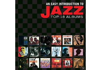 VARIOUS - An Easy Introduction To Jazz-Top 18 Albums - (CD)