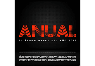 VARIOUS - Anual El Album Dance Del Ano 2016 - (CD)