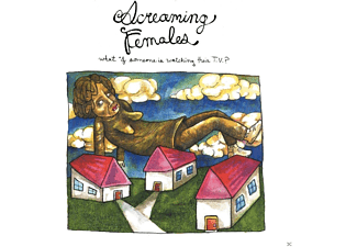 Screaming Females - What If Someone Is Watching Their TV? - (Vinyl)