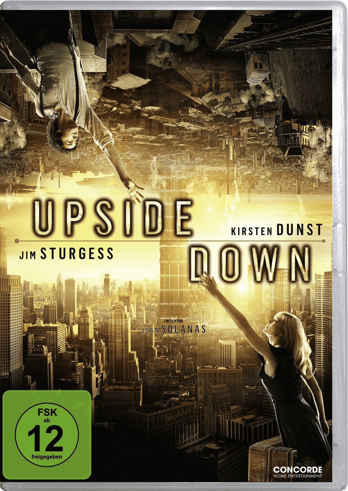 Upside Down auf DVD