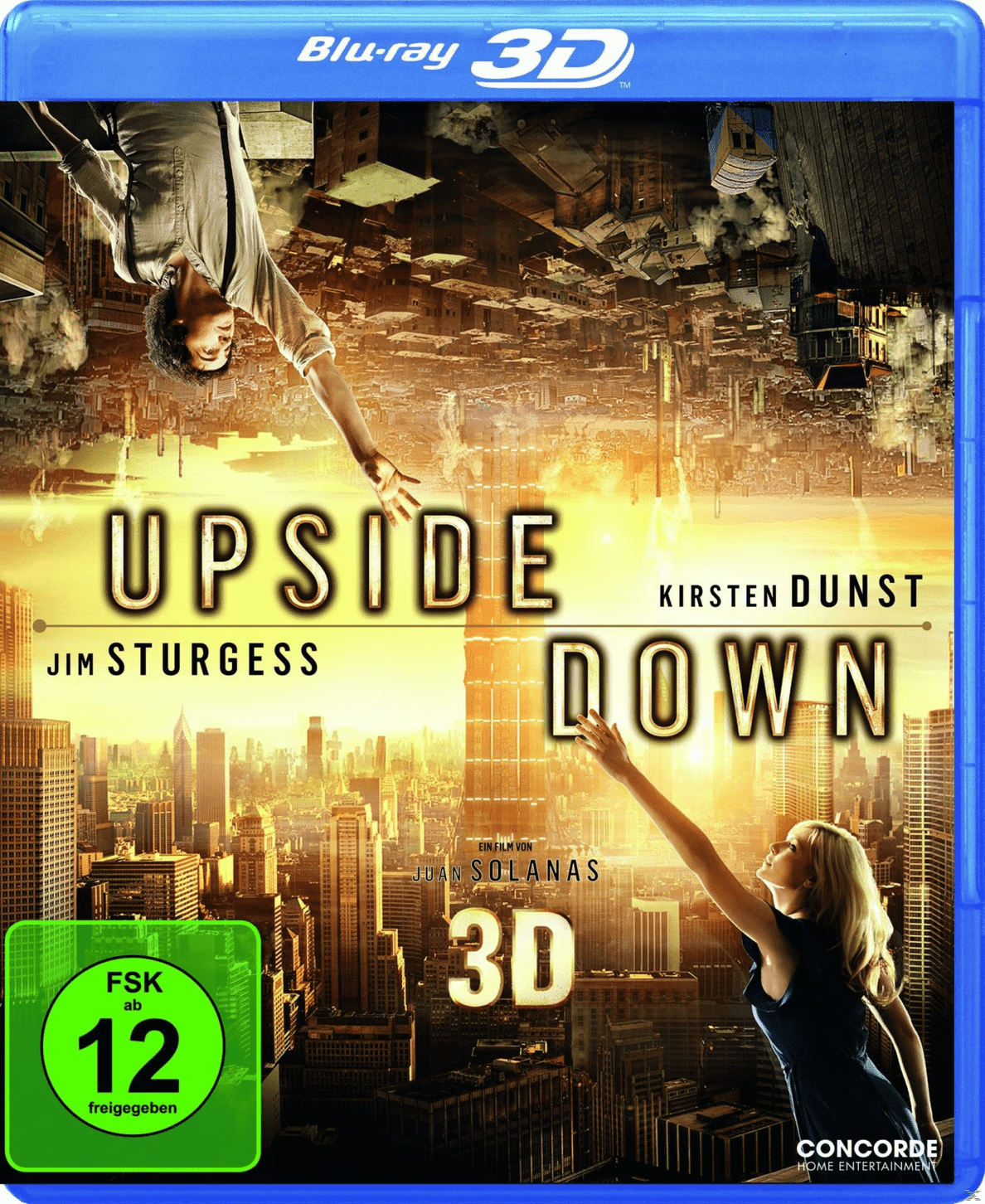 Upside Down auf 3D Blu-ray