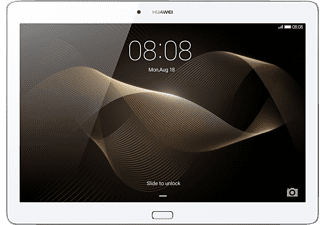 HUAWEI MediaPad M2 10.0 Wifi, Tablet mit 10.1 Zoll, 16 GB, 2 GB RAM, Android 5.1, Silber