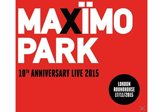 Maximo Park - 10th Anniversary Live 2015 [CD]