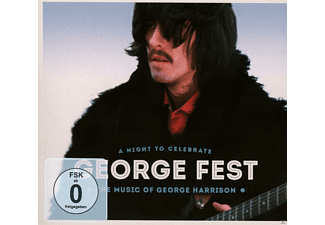 VARIOUS - GEORGE FEST-A NIGHT TO CELEBRATE GEORGE HARRISON [CD + DVD Video]