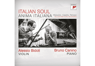 Bruno Canino, Alessio Bidoli - Anima Italiana - (CD)