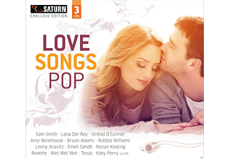 VARIOUS - Love Songs Pop (Saturn Exclusiv) - (CD)