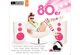 VARIOUS - 80er (Saturn Exclusiv) - (CD)