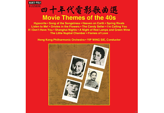 Hong Kong Po, Wing-sie Yip - Movie Themes Of The 40s - (CD)