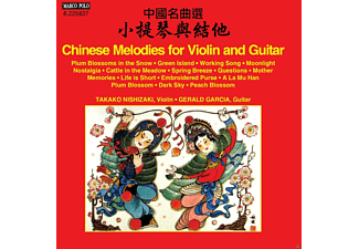 Gerald Garcia, Nishizaki Takako - Chinese Melodies For Violin And Guitar - (CD)