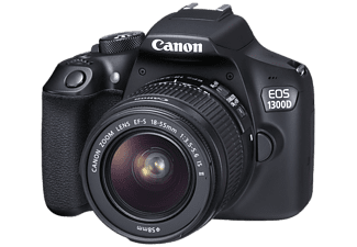 CANON Appareil photo reflex EOS 1300D +  EF-S 18-55mm IS II (1160C026AA)