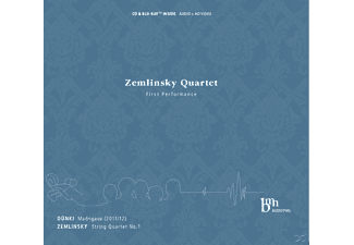 Zemlinsky Quartet - First Performance (+Blu-Ray) - (CD)