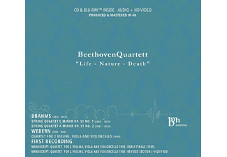 Beethoven Quartet - Life-Nature-Death - (CD + Blu-ray Disc)