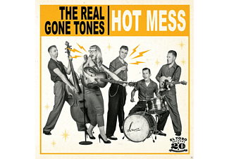 The Real Gone Tones - Hot Mess - (CD)