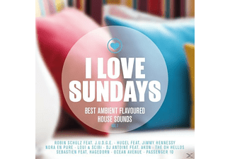 VARIOUS - I Love Sundays Vol.1 Best Ambient Flavoured House - (CD)