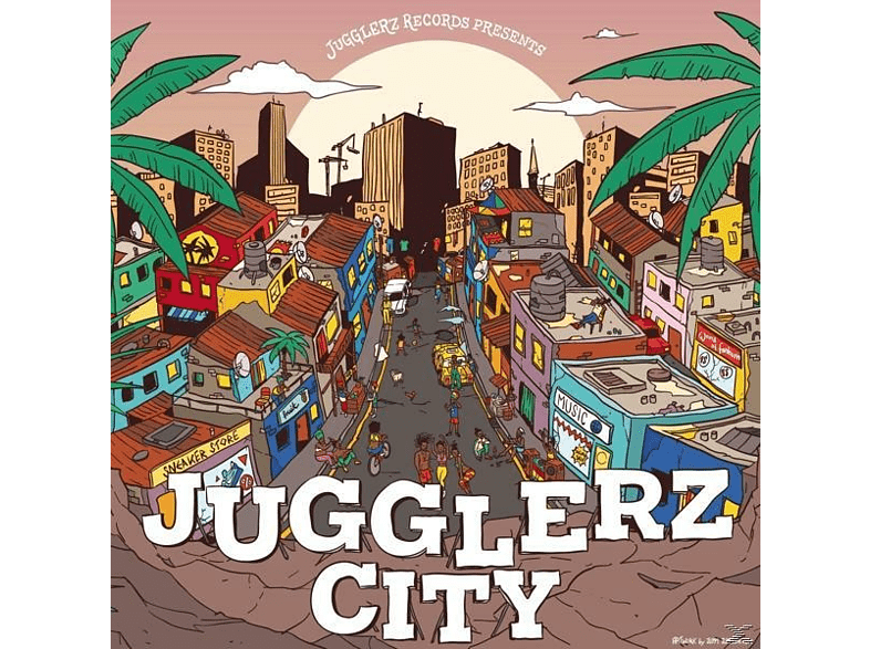 VARIOUS - Jugglerz City [CD]
