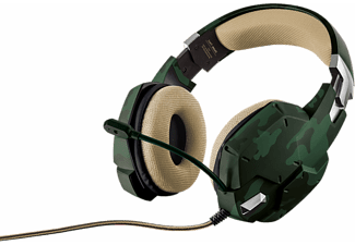 TRUST Casque gamer  GXT 322C Green Camouflage (20865)